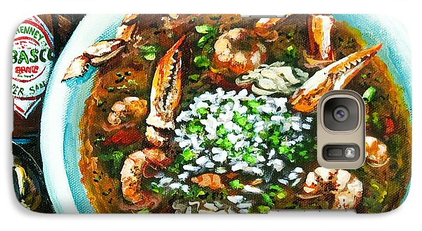 Food And Beverage Galaxy S7 Case - Seafood Gumbo by Dianne Parks
