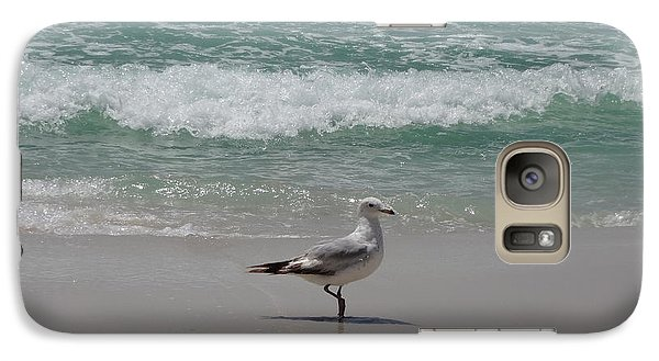 Seagull Galaxy Case by Megan Cohen