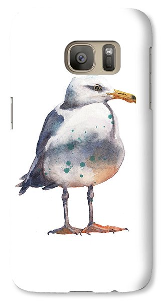Seagull Print Galaxy S7 Case by Alison Fennell