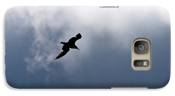 Galaxy Case featuring the photograph Seagull's Sky 1 by Jouko Lehto