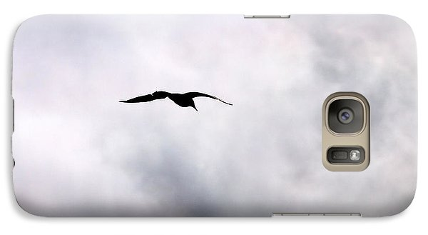 Galaxy Case featuring the photograph Seagull's Sky 2 by Jouko Lehto