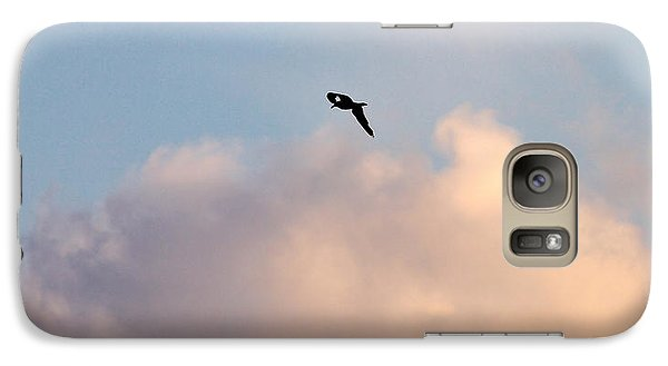 Galaxy Case featuring the photograph Seagull's Sky 3 by Jouko Lehto