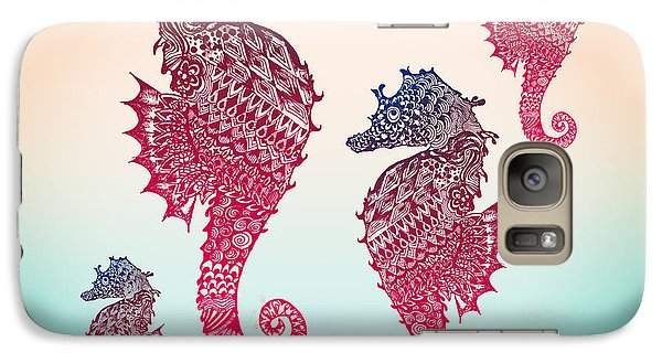 Seahorse Galaxy S7 Case by Mark Ashkenazi