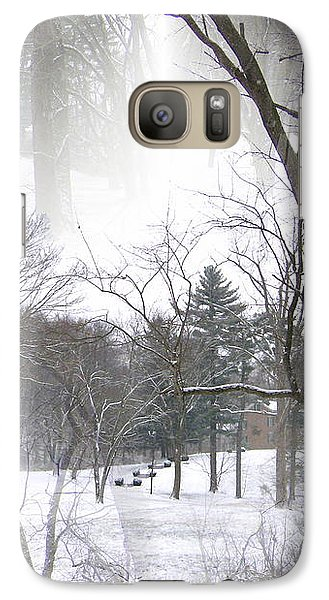 Galaxy Case featuring the photograph Seamless Home On The Hill by Skyler Tipton
