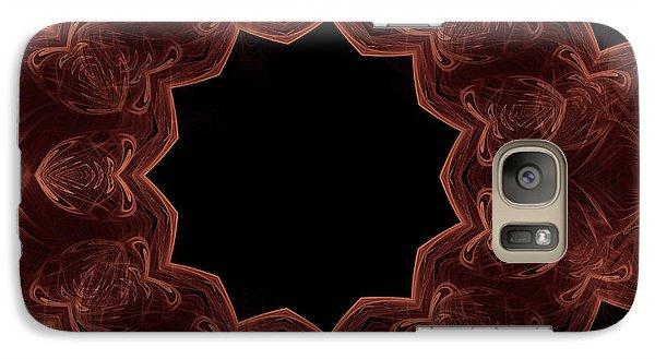 Seamless Kaleidoscope Copper Galaxy S7 Case