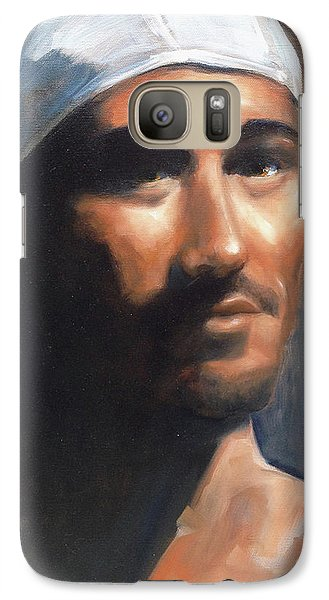 Galaxy Case featuring the painting Sean by Diane Daigle