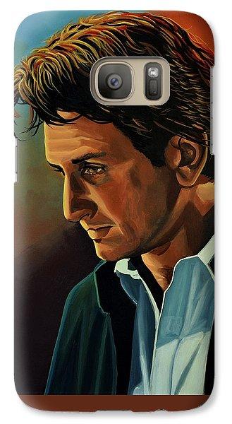 Robin Galaxy S7 Case - Sean Penn by Paul Meijering