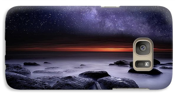 Galaxy Case featuring the photograph Search Of Meaning by Jorge Maia