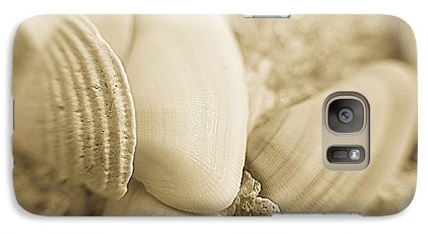 Galaxy Case featuring the photograph Seashells by Janice Spivey