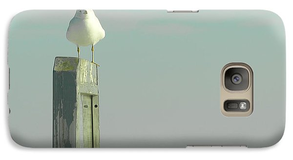 Galaxy Case featuring the photograph Seaside by Raymond Earley