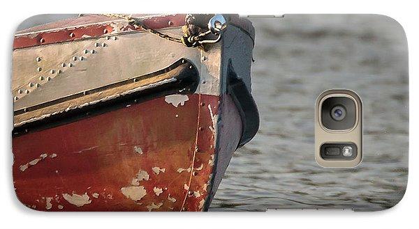 Galaxy Case featuring the photograph Seasoned Bow by Allen Biedrzycki