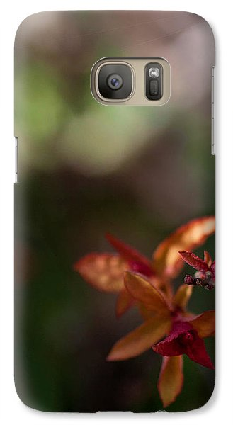 Galaxy Case featuring the photograph Seasons Beginning by Cherie Duran