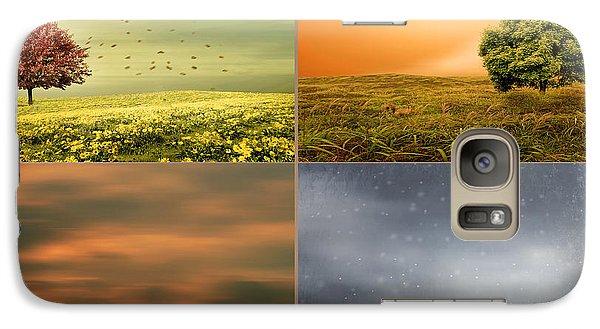 Seasons' Delight Galaxy S7 Case by Lourry Legarde