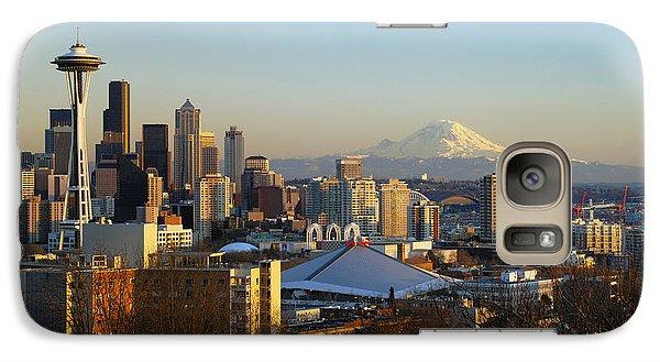 Seattle Cityscape Galaxy S7 Case