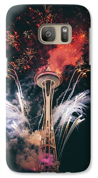 Seattle Galaxy S7 Case by Happy Home Artistry