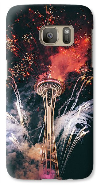 Seattle Galaxy Case by Happy Home Artistry