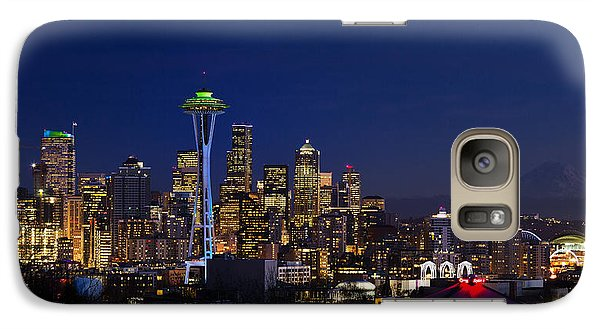 Seattle Seahawks Space Needle Galaxy S7 Case
