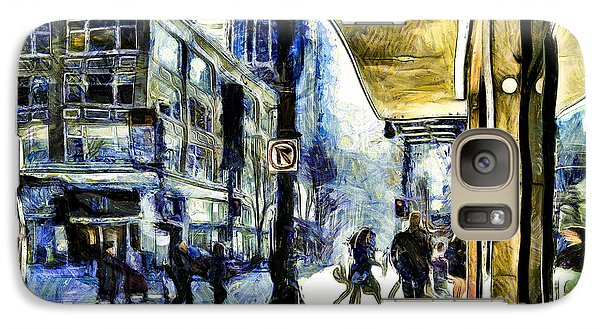 Galaxy Case featuring the photograph Seattle Streets #2 by Susan Parish