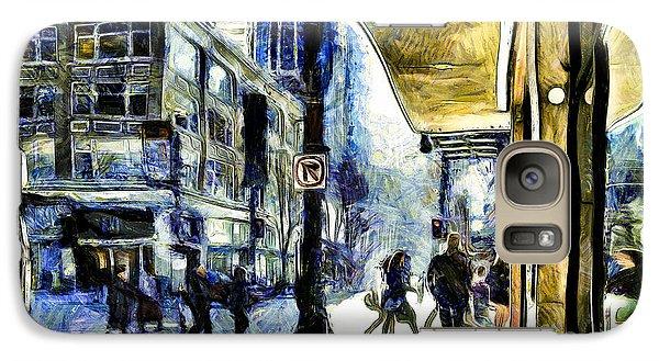 Seattle Streets #2 Galaxy S7 Case