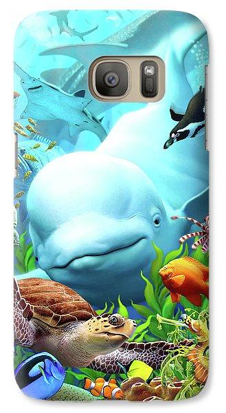 Penguin Galaxy S7 Case - Seavilians 2 by Jerry LoFaro