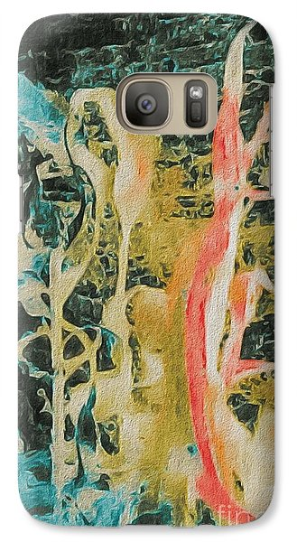 Galaxy Case featuring the photograph Seaweed by William Wyckoff
