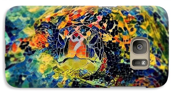 Galaxy Case featuring the digital art Sebastian The Turtle by Erika Swartzkopf