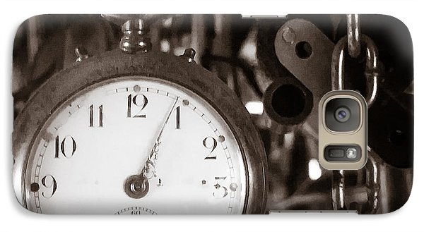 Galaxy Case featuring the photograph Seconds Past by Chris Bordeleau