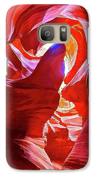 Galaxy Case featuring the photograph Secret Canyon 1 by ABeautifulSky Photography