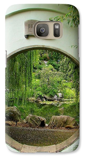 Galaxy Case featuring the photograph Secret Garden by Michele Penner