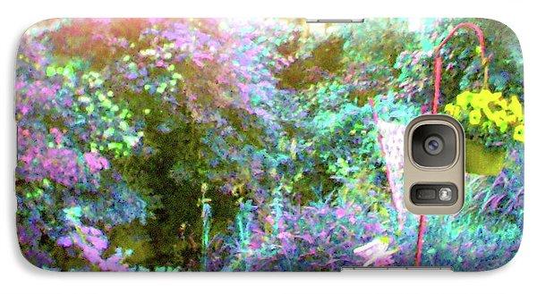 Galaxy Case featuring the photograph Secret Garden by Susan Carella