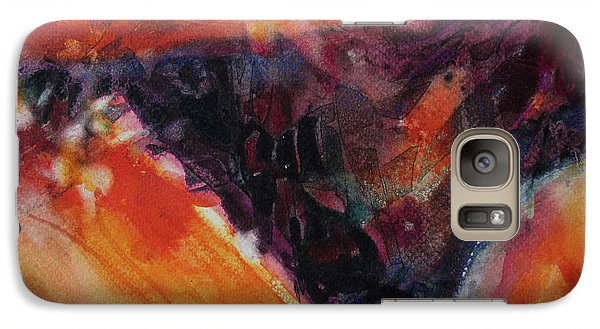 Galaxy Case featuring the painting Secret Hideaway by Kathy Braud