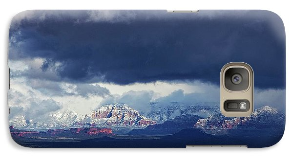 Sedona Area Third Winter Storm Galaxy S7 Case