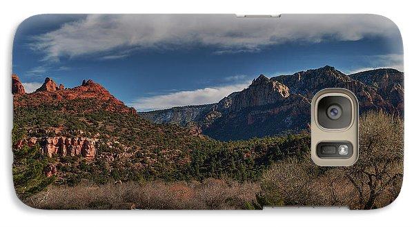 Galaxy Case featuring the photograph Sedona Arizona 001 by Lance Vaughn