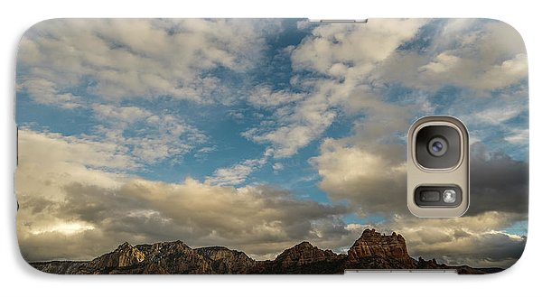 Galaxy Case featuring the photograph Sedona Arizona Redrock Country Landscape Fx1 by David Haskett