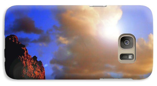 Sedona Mountain Cloud Sun Galaxy S7 Case