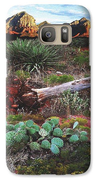 Sedona Mountain Sunrise Galaxy S7 Case