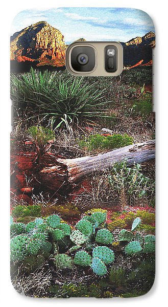Sedona Mountain Sunrise Galaxy S7 Case