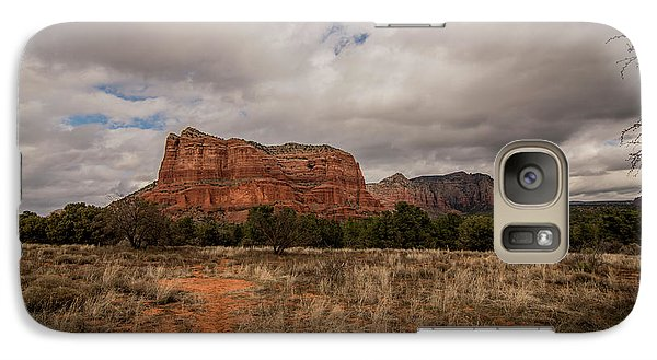 Galaxy Case featuring the photograph Sedona National Park Arizona Red Rock 2 by David Haskett