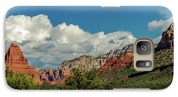 Galaxy Case featuring the photograph Sedona Panoramic II by Bill Gallagher
