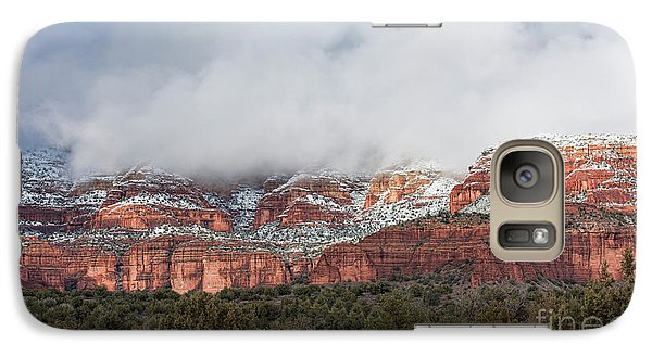 Galaxy Case featuring the photograph Sedona Revealed by Sandra Bronstein