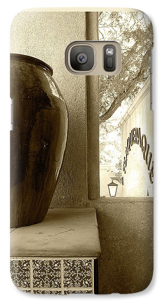 Galaxy Case featuring the photograph Sedona Series - Jug And Window by Ben and Raisa Gertsberg