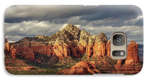 Galaxy Case featuring the photograph Sedona Skyline by James Eddy