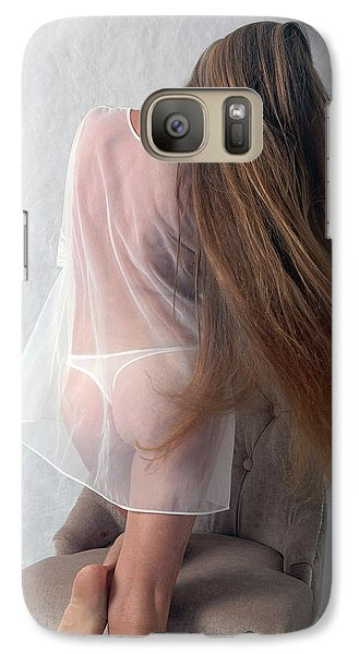 Galaxy Case featuring the photograph Seduction by Nancy Taylor