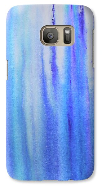See Blue Sea Galaxy S7 Case by Cyrionna The Cyerial Artist