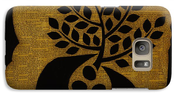 Galaxy Case featuring the mixed media Seeds Of Life by Gloria Rothrock