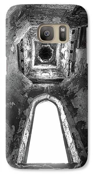 Galaxy Case featuring the photograph Seeing From With In by Terry Cosgrave