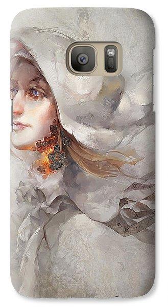 Galaxy Case featuring the digital art Seek V1 by Te Hu