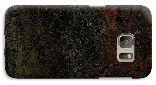 Galaxy Case featuring the digital art Seeweed by Constance Krejci