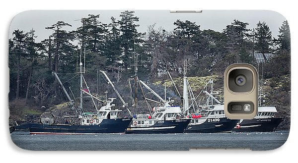 Galaxy Case featuring the photograph Seiners In Nw Bay by Randy Hall
