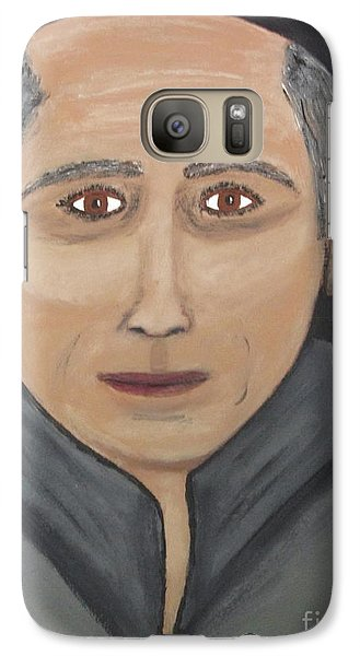 Galaxy Case featuring the painting Self by Jeffrey Koss